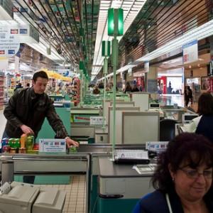 draguer la caissière du supermarché